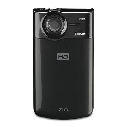 amazon com kodak zi8 pocket video camera black discontinued by rh amazon com Kodak VHS Kodak Logo
