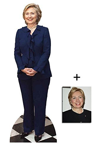 Fan Pack - Hillary Clinton Lifesize Cardboard 2D Standup / Cutout Plus 20x25cm Photo by BundleZ-4-FanZ Fan Packs by Starstills