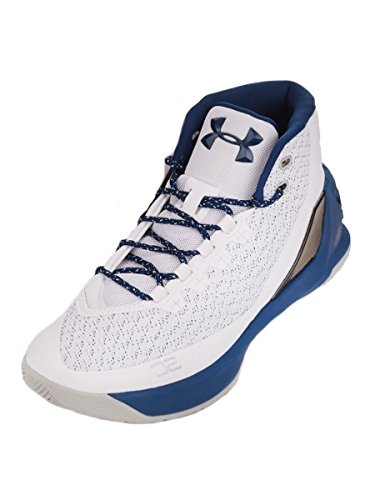 Under Armour UA Curry 3 Hombre Zapatillas Baloncesto BIANCO