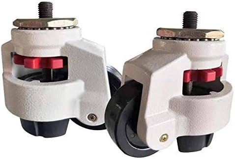 KISNAD Ruedas para Silla Oficina GD40S60S80S100S Level Ajuste Equipo de Rueda Equipo de Ajuste Tipo de Soporte Tipo Fuma Caster, Ruedas industriales (Size : GD 60S)