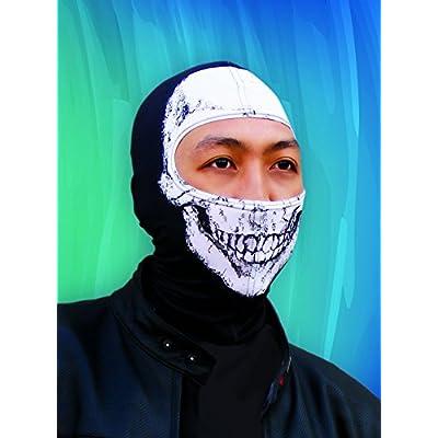ZANheadgear Nylon 'Skull' Design Balaclava (Multicolor, One Size): Automotive