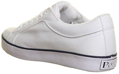 Ralph Lauren Falmuth Hi - Zapatillas de cuero para niño blanco - White W19