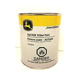 John Deere Original Equipment Yellow Paint #TY25645