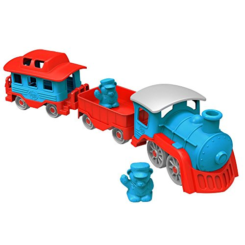 Green Toys Train, Blue/Red (Set Plastic Train)
