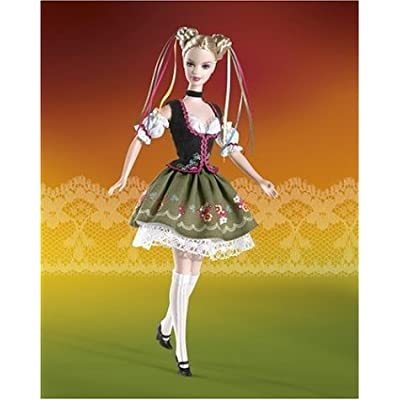 Barbie Dolls of the Word: Octoberfest Barbie Doll: Toys & Games