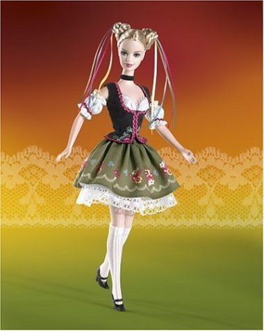 Barbie Dolls of the Word: Octoberfest Barbie Doll (Barbie Doll German)