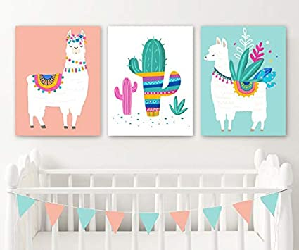 Superior Image Unavailable. Image Not Available For. Color: Llama Nursery Wall Decor  Llama Girl Bedroom ...