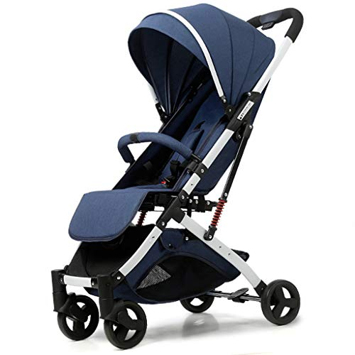 OCYE Lightweight Stroller with 5-Point Safety System and Multi-Position Reclining seat, Extended Awning, Simple one-Hand Folding, Large Storage Basket Folding Stroller