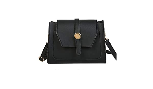 Amazon.com  Women Contrast color Wild Wide Shoulder Strap Shoulder Bag  Messenger BagHandbags Clutches Evening Bags  Clothing 2fbcb0c5a33f