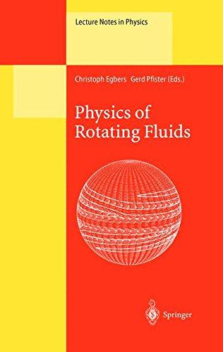 Physics of Rotating Fluids ebook