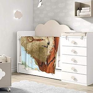 AOOEDM Baby Blanket Arcanine Cartoon Toddler Kids Blanket Super Soft Baby Blankets Cozy Crib Lightweight Comforter…