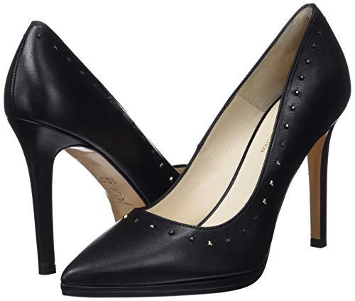 Mujer Punta Para glove Cerrada Negro Con Vaita Zapatos Tacón Lodi De SnHO4wx