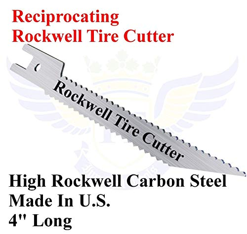 (Reciprocating Tire Cutter Recycler. Mosquito,Environmental Pet Disease Control.)