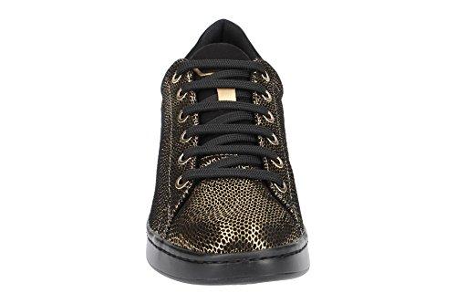 a Gold Jaysen D Dk Mujer Black Negro Geox C2e9b para Zapatillas wE7UWHqS
