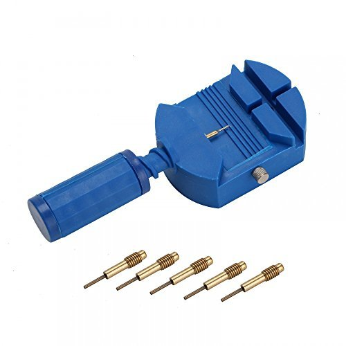 Watch Link Remover with 5 Pins Blue from Cipon
