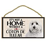 Imagine This Wood Sign for Coton De Tulear Dog Breeds