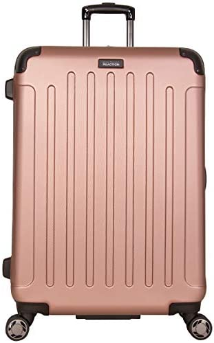 Kenneth Cole Reaction Renegade 28″ ABS Expandable 8-Wheel Upright, Rose Gold, inch Checked
