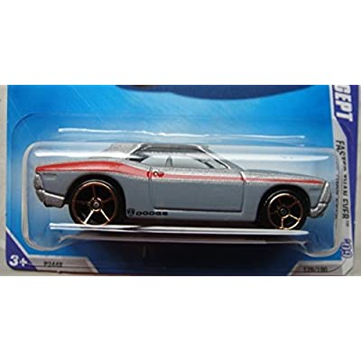 HOT WHEELS FASTER THAN EVER SILVER DODGE CHALLENGER CONCEPT 2/10: Toys & Games