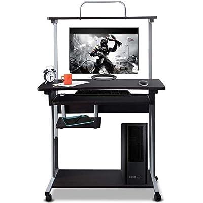 tangkula-computer-desk-small-rolling