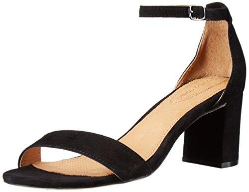 Gelegenheid Schoenen - Corso Como Vrouwen Strelen Hakken Sandaal Zwart Suede
