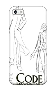 Excellent Design Code Geass Lelouch Of The Rebellion Phone Case For Iphone 5/5s Premium Tpu Case