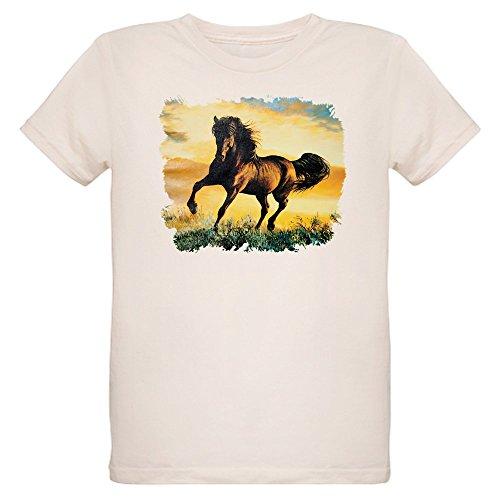 - Royal Lion Organic Kids T-Shirt Horse at Sunset - Large (12 Yrs)