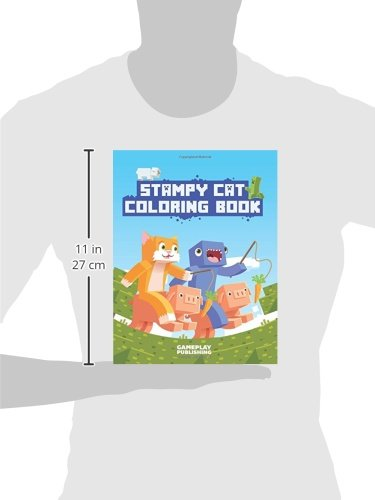Stampy Cat Coloring Book Minecraft Adventures Gameplay Publishing Library 9781508413776 Amazon Books