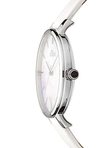 s.Oliver Damen Analog Quarz Armbanduhr SO-3522-LQ 4