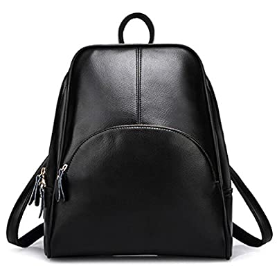 ELOMBR Women's Backpack Purse Pu Leather Ladies Casual Shoulder Bag School Bag for Girls
