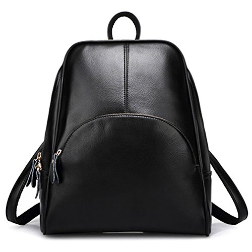 ELOMBR Women Backpack Purse Ladies Casual Shoulder Bag Pu Leather