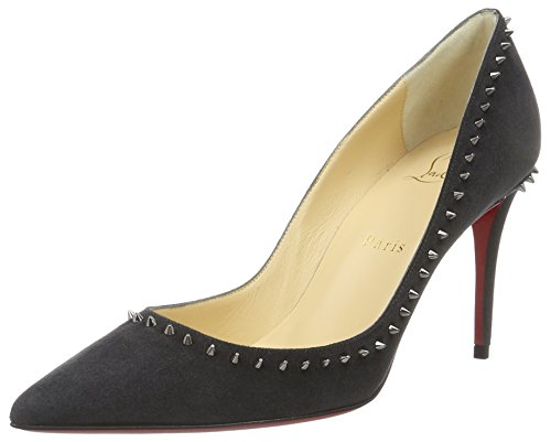 Christian Louboutin Damen Calzature Anjalina 85 Shoes Pumps Mehrfarbig (FUSAIN/GUN METAL)