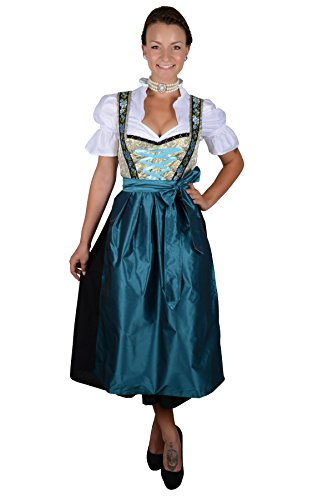 Edelnice Trachtenmoden Authentic Bavarian Long Dirndl, used for sale  Delivered anywhere in Canada