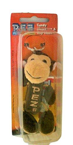 Pez Petz Safari Babies Plush Candy Dispenser Key Chain Monkey