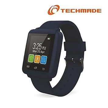 Techmade SmartWatch M2 Mini con pantalla 1.44 Color Dark ...