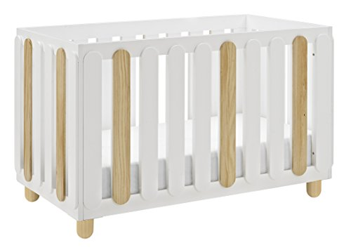 Storkcraft Sienna 3-in-1 Convertible Crib, White Natural, Easily Converts to Toddler Bed Day Bed or Full Bed, Three Position Adjustable Height Mattress, Some Assembly Required Mattress Not Included