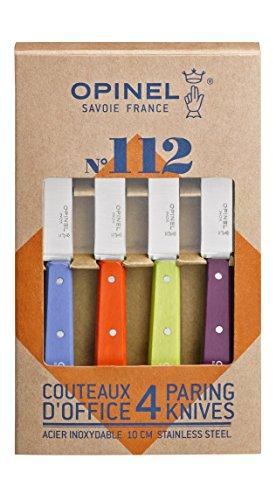 Opinel Küchenmesser Set mit 4 Messern verschiedene Farben