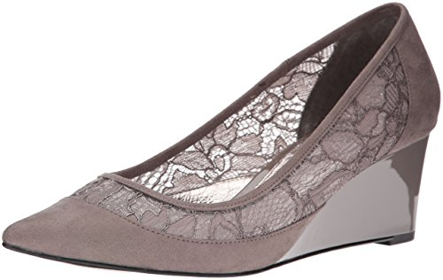 Adrianna Papell Women's Langley Pointed Toe Flat, Graphite, 8.5 M US
