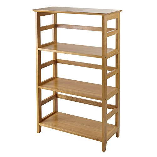 Winsome Wood 99342 Studio Shelving Honey