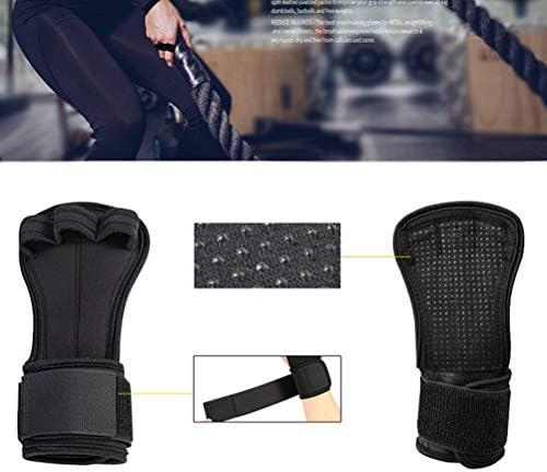Artibetter Gewichtheberhandgriffe Handgelenkstütze Handflächenschutz Klimmzüge Größe m