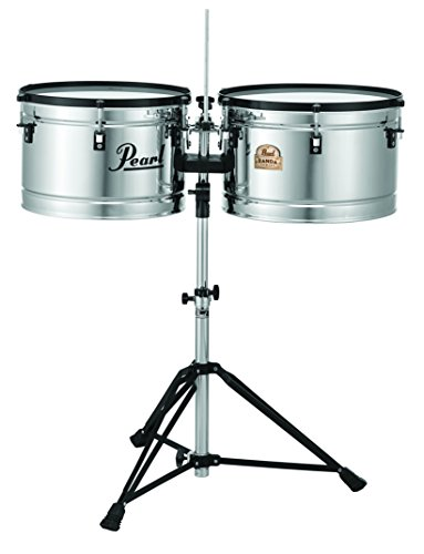 Pearl PBTM1516/C 15 x 10 Inches and 16 x 10 Inches Banda Timbales by Pearl