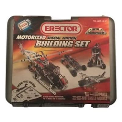 Erector Special Edition Building Set Metal Construction Set 25 Models: Toys & Games