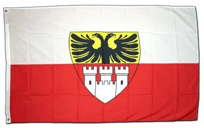 Flagge Deutschland Duisburg - 90 x 150 cm [Misc.] Flaggenfritze
