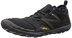New Balance Men's Mt10v1 Minimus Trail Running Shoe, Blacksilver, 9 D Us