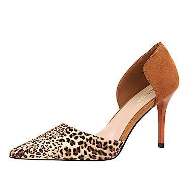 pink Chaussures LvYuan Eté 10 Printemps Gris blushing Automne cm à Kaki Aiguille Talons Femme Similicuir Marron 12 à Rose Talon ggx Rouge ErAqr1