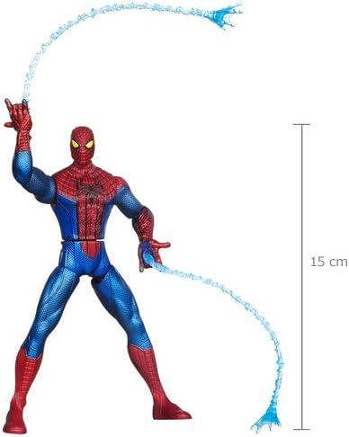 Hasbro The Amazing Spider-Man Web Battlers Whip Attack Azul, Rojo - Figuras de Juguete para niños (Azul, Rojo, 4 año(s)): Amazon.es: Juguetes y juegos