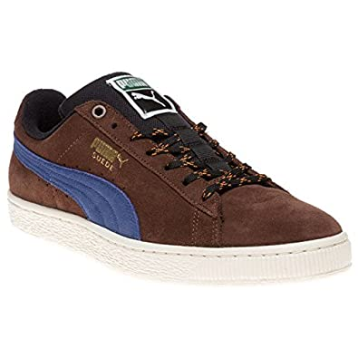 Classic Homme Suede Mode Puma Winterized Baskets Marron ARj54L