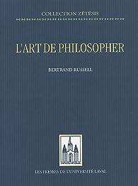 L'art de philosopher par Bertrand Russell