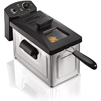 Hamilton Beach Professional Deep Fryer, 3-Liter Oil Capacity (35033)