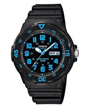Casio Men's Dive Style Watch (Blue) by Casio