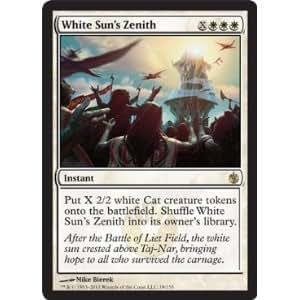 Amazon.com: Magic: the Gathering - White Sun's Zenith